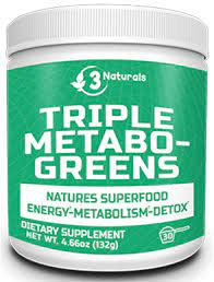 3 Naturals Triple Metabo Greens Product